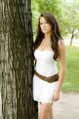 Gorgeous teen model — Stockfoto