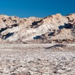 Chilean Atacama Desert (Valle de la Luna) - Stock Photo