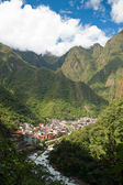 Aguas Calientes, Peru — Stock Photo