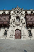 Cathedral in Plaza Mayor, Lima, Peru — Foto Stock