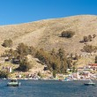 Bolivia Barge Ferry - Stock Photo