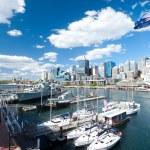 Darling Harbour in Sydney, Australia. — Stock Photo