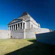 The Shrine of Remembrance - Melbourne, Australia - Stock Photo