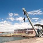 Industrial - Cockatoo Island, Sydney, Australia. — Stock Photo