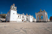 Cathedral - Copacabana, Bolivia — Stock Photo