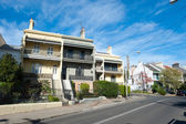 Terrace Homes, Sydney — Stock Photo