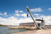 Industrial - Cockatoo Island, Sydney, Australia. — Stock Photo