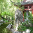 Darling Harbour Chinese Garden in Sydney, Australia. — Stockfoto #12870700