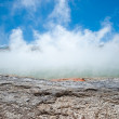 Champagne Pool in Wai-O-Tapu Geothermal Wonderland, New Zealand — Stock Photo