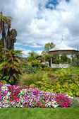 Landscaping near Rotorua Bath House - Museum — Stock Photo