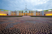 Australian Parliament House in Canberra — Stock Photo