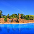 Swimming Pool, Tenerife, Canarian Islands — Stock Photo