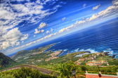 North-west coast of Tenerife, Canarian Islands — Stock Photo
