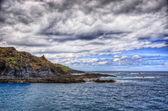 North-west coast of Tenerife, Garachico, Canarian Islands — Stock Photo