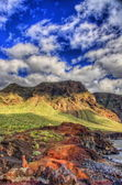 North-west coast of Tenerife near Punto Teno Lighthouse, Canaria — Stock Photo