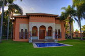 Swimming pool in front of the house, Tenerife, Canarian Islands — Stock Photo