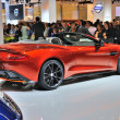 FRANKFURT - SEPT 14: Aston Martin Vanquish Roadster presented as — Stock Photo