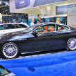 Постер, плакат: FRANKFURT SEPT 14: BMW Alpina B6 Bi Turbo Coupe presented as w