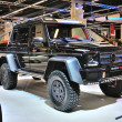 FRANKFURT - SEPT 14: Brabus 700 Fortifies 6x6 G-wagen presented — Stock Photo