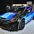 FRANKFURT - SEPT 14: Hyundai i20 WRC 2014 presented as world pre — Stock Photo