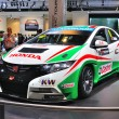 FRANKFURT - SEPT 14: Honda Civic WTCC presented as world premier — Stock Photo