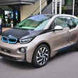 FRANKFURT - SEPT 14: BMW i3 presented as world premiere at the 6 — Stock Photo #31493211