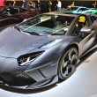 FRANKFURT - SEPT 14: Lamborghini Aventador Carbonado by Mansory — Stock Photo