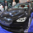 Stock Photo: FRANKFURT - SEPT 14: BMW AlpinB6 Bi-Turbo Coupe presented as w