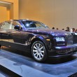 FRANKFURT - SEPT 14: Rolls-Royce Phantom presented as world prem — Stock Photo