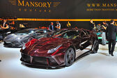 FRANKFURT - SEPT 14: Ferrari Mansory 458 Italia presented as wor — Stock Photo