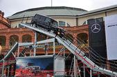 FRANKFURT - SEPT 14: Mercedes Benz G-Class AMG V8 presented as w — Stockfoto