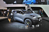 FRANKFURT - SEPT 14: Kia Niro concept presented as world premier — Stock Photo