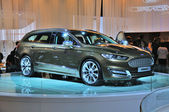 FRANKFURT - SEPT 14: Ford Mondeo Vignale presented as world prem — Stock Photo