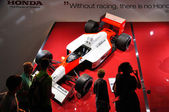 FRANKFURT - SEPT 14: Honda Formula presented as world premiere a — Stock Photo