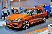 FRANKFURT - SEPT 14: BMW Concept Active Tourer Outdoor presented — Stock Photo