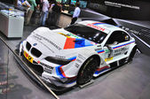 FRANKFURT - SEPT 14: BMW M3 E92 racing edition GT2 presented as — Stock Photo