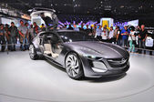FRANKFURT - SEPT 14: Opel Monza Concept presented as world premi — Stock Photo