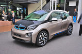 FRANKFURT - SEPT 14: BMW i3 presented as world premiere at the 6 — Stock Photo