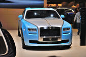 FRANKFURT - SEPT 14: Rolls-Royce Ghost presented as world premie — Stock Photo