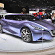 Постер, плакат: FRANKFURT SEPT 14: Nissan Friend ME Concept presented as world