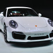 Stock Photo: FRANKFURT - SEPT 14: Porsche 911 Turbo S presented as world prem