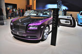 FRANKFURT - SEPT 14: Rolls-Royce Wraith presented as world premi — Stock Photo