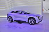 FRANKFURT - SEPT 14: Subaru Viziv Concept presented as world pre — Foto Stock