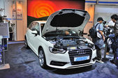 FRANKFURT - SEPT 14: Audi A3 presented as world premiere at the — Foto Stock