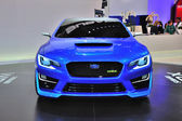 FRANKFURT - SEPT 14: Subaru WRX Concept presented as world premi — ストック写真