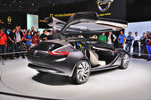 FRANKFURT - SEPT 14: Opel Monza Concept presented as world premi — Foto Stock
