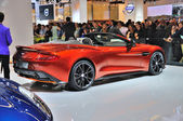 FRANKFURT - SEPT 14: Aston Martin Vanquish Roadster presented as — Zdjęcie stockowe