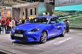 FRANKFURT - SEPT 14: Lexus IS 300h presented as world premiere a — Foto Stock