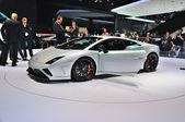FRANKFURT - SEPT 14: Lamborghini Gallardo Squadra Corse presente — Stock Photo
