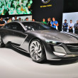 Постер, плакат: FRANKFURT SEPT 14: Opel Monza Concept presented as world premi